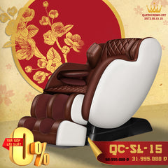 Image of Ghế Massage QUEEN CROWN 4D QC-SL-15