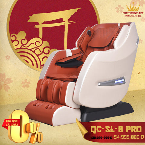 Ghế Massage QUEEN CROWN 6D QC-SL-8 Pro