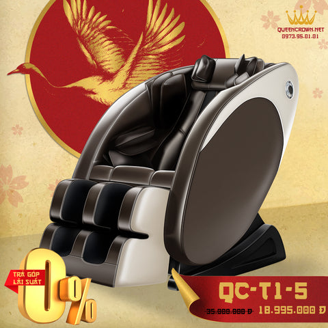Ghế Massage 3D QUEEN CROWN QC-T1-5