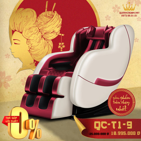 Ghế Massage QUEEN CROWN 3D QC-T1-9