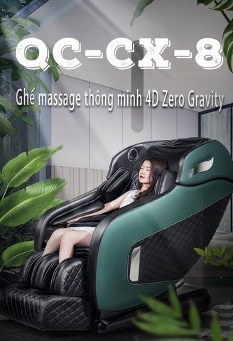 Ghế Massage QUEEN CROWN 6D QC-CX8