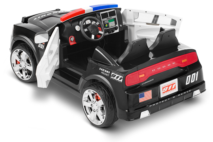 Dodge Police Car Kid Trax