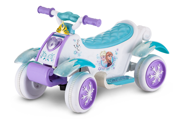 Disney Frozen Toddler Quad - White