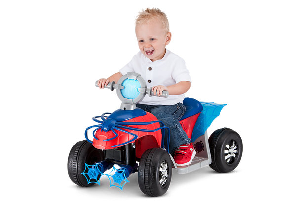 Marvel Spider-Man Toddler Quad