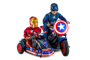 Marvel Captain America Motorcycle and Side Car