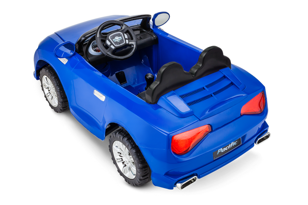 Sports Coupe Car - Blue