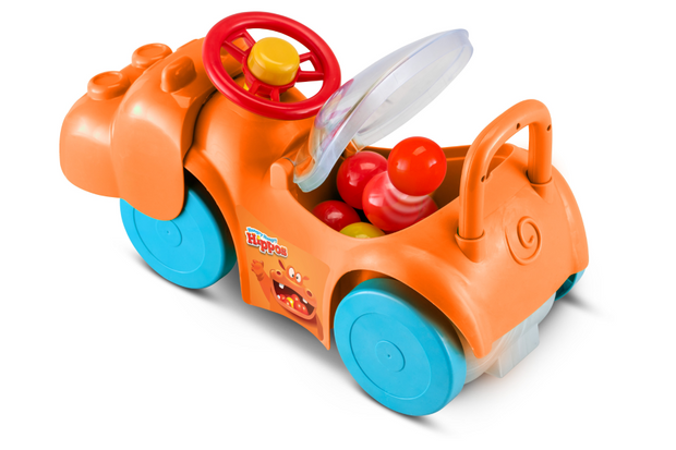 Hungry Hungry Hippos Activity Ride-on - Orange