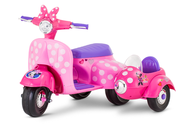 Disney Minnie Mouse Happy Helpers Scooter with Side-car
