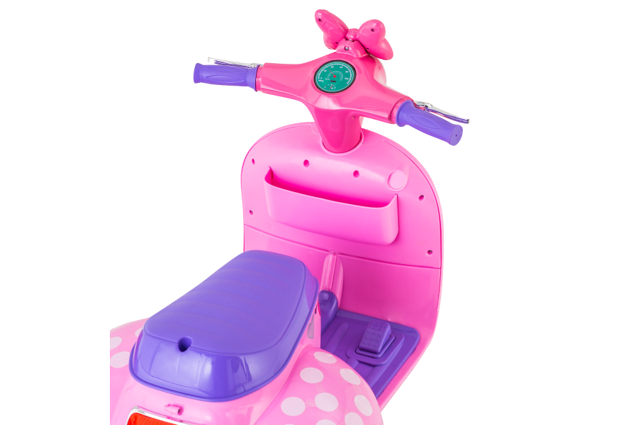 Disney Minnie Mouse Happy Helpers Scooter With Side Car Kid Trax