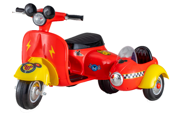 Mickey Mouse Sidecar Scooter