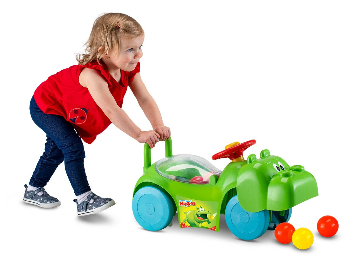 Hungry Hungry Hippos Activity Ride-on - Green
