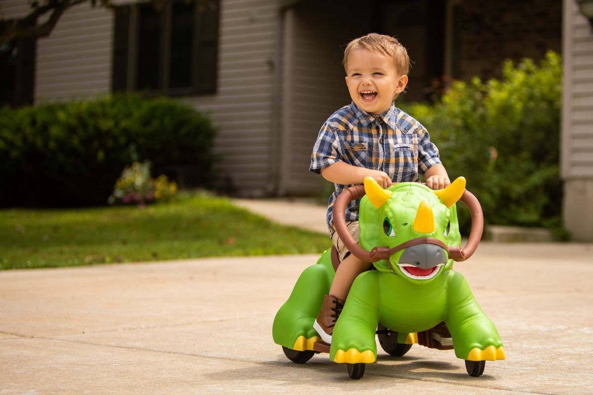 Rideamals Dino Toddler Ride-On