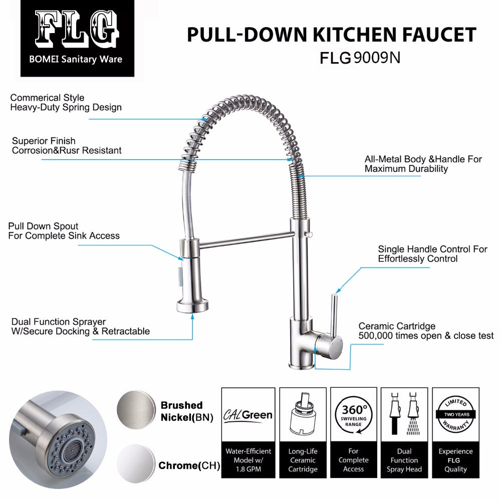 Torneira Dual Function Kitchen Faucet – Kommercium