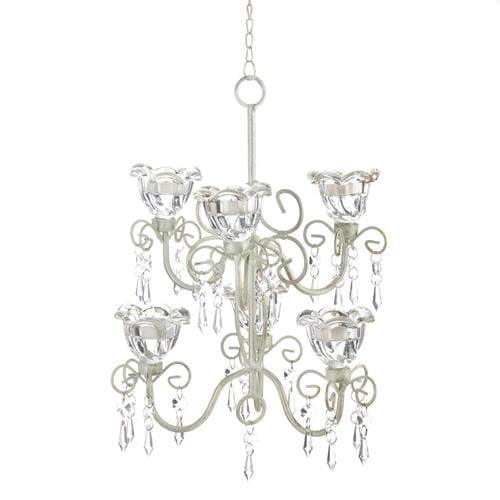 Crystal Blooms Double Chandelier - Handbags Specialist Headquarter