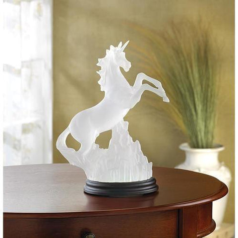Lighted Unicorn Figurine - Handbags Specialist Headquarter