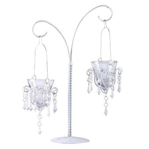 Mini-Chandelier Votive Stand - Handbags Specialist Headquarter