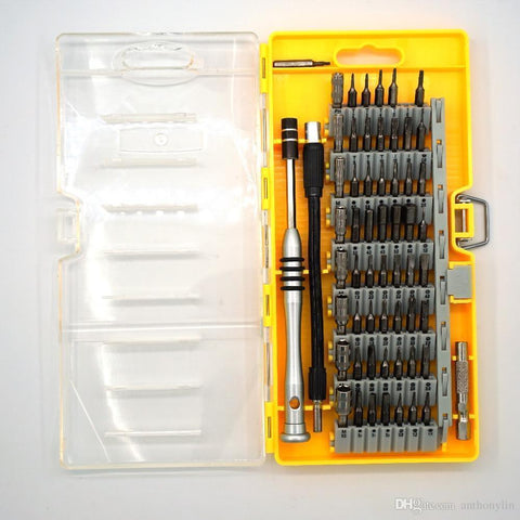 60 in 1 Precision Screwdriver Tool Kit Magnetic Screwdriver Set for Cell Phone Tablet Compact Repair Maintenance With Box - Handbags Specialist Headquarter