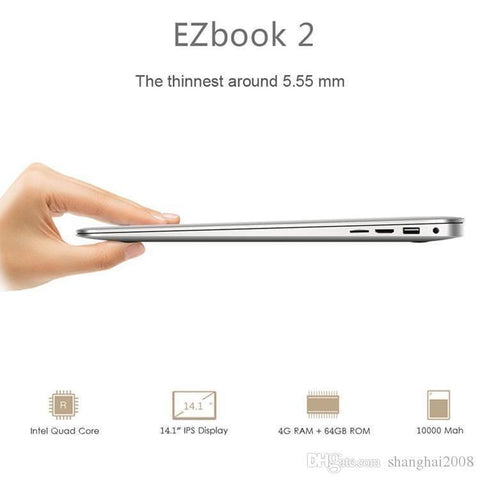 Jumper EZbook 2 A14 Laptop - Handbags Specialist Headquarter