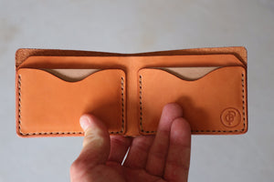 Traditional Bifold Wallet | Russet