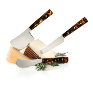 Tortoiseshell Cheese Knives