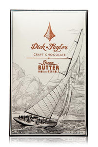 DICK TAYLOR BROWN BUTTER WITH NIBS & SEA SALT