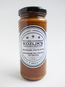 Kozlik's - Balsamic Fig & Date