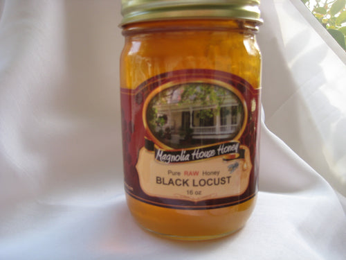 Black Locust(Acacia) Honey 16oz - Magnolia House Honey