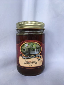Eucalyptus honey 16oz - Magnolia House Honey