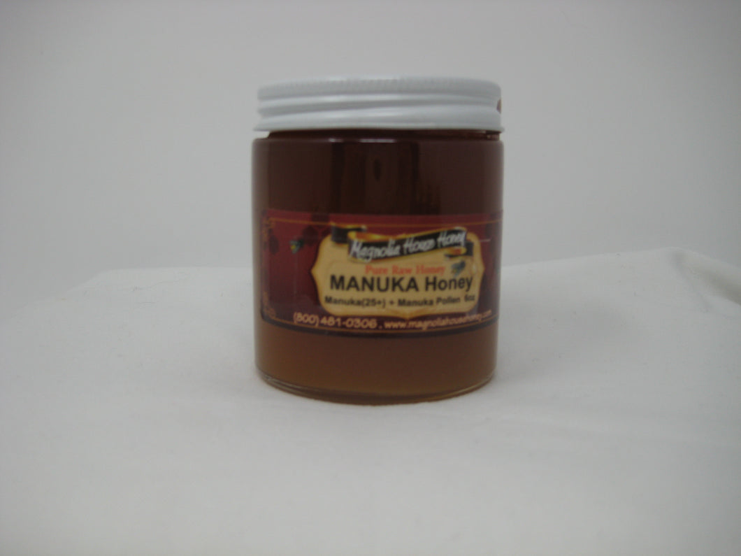 Raw Manuka  honey 25+ 6oz
