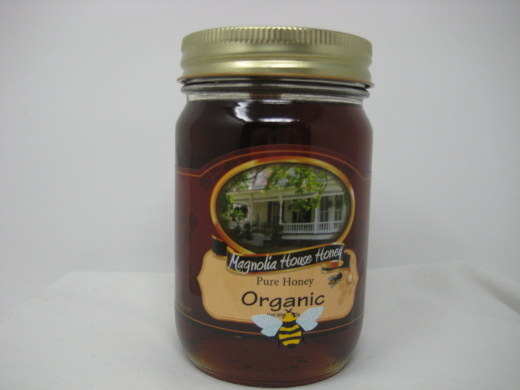 Organic Honey(certified) 16 oz