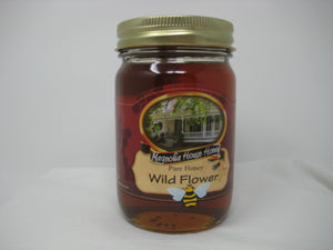 16oz Wildflower honey
