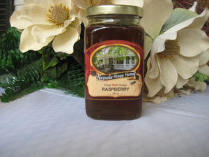 Raspberry Honey 16oz - Magnolia House Honey