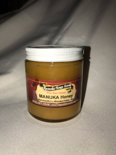 Raw Manuka  honey 25+ 6oz - Magnolia House Honey