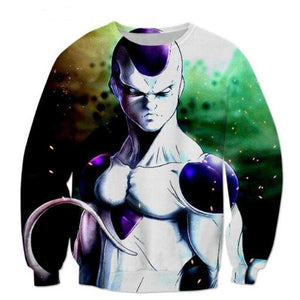 Dragon Ball Z Freeza 3D Printed Pullover Sweatshirt