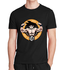 DBZ Clothing Black Goku T-shirts Men