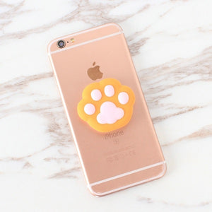 Orange Paw Pop Out Holder