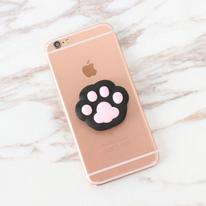 Black Paw Pop Out Holder