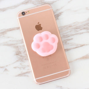 Pink Paw Pop Out Holder