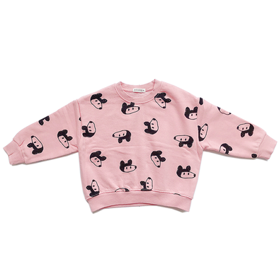 Pink Mouse Daily Sweater