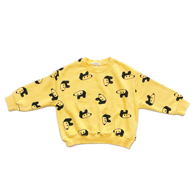 Yellow Mouse Daily Sweater