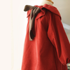 Lovely Baby Red Corduroy Dress