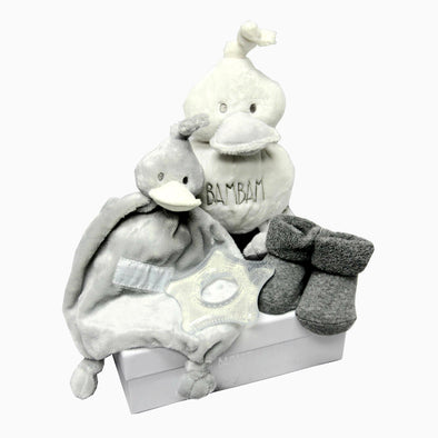 Baby Grey Duck Gift Box