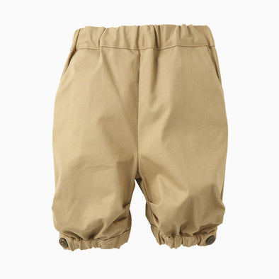 Baby Boy Beige Three-quarter Pants