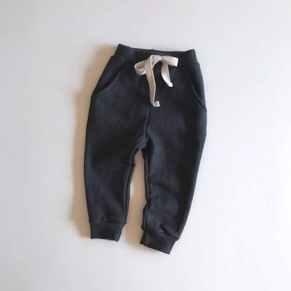 Charcoal Spring Baggy Pants