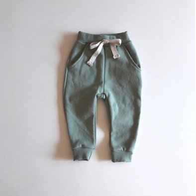 Mint Spring Baggy Pants