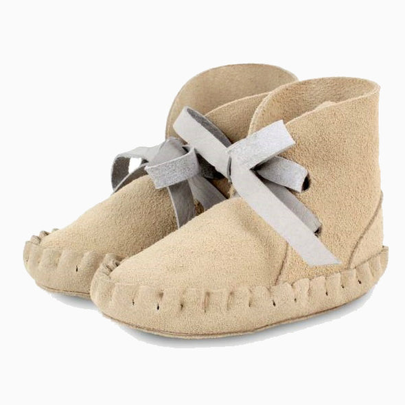 Baby Shoes Cream Nubuck Pina Booties