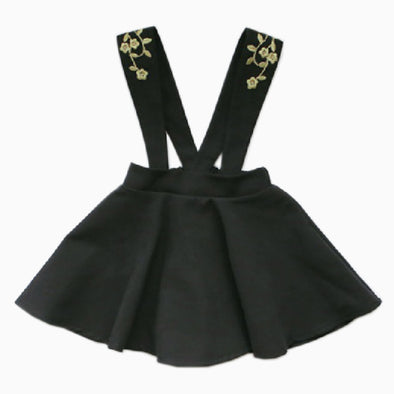 Girl Black Gravi Jump Skirt