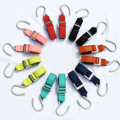 Synthetic Leather Multifunction Stroller Hook