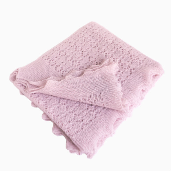 Pink Cosy Cashmere Baby Shawl Gift Box