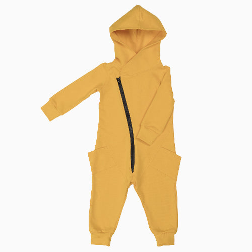 Sunny Yellow Organic Cotton College Jumpsuit